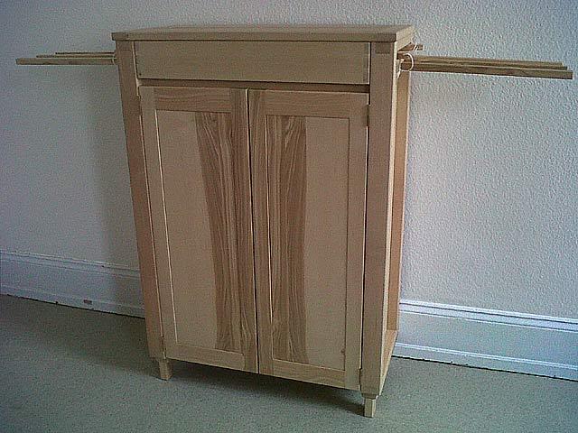 Meuble frene massif stunning meuble de bar confiturier for Meuble frene massif